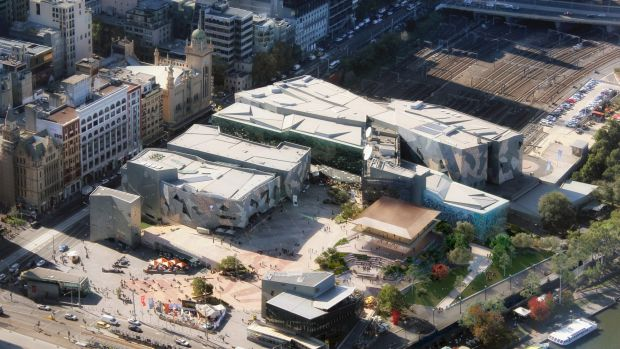 What are we to make of the Apple Flagship Store at Federation Square?